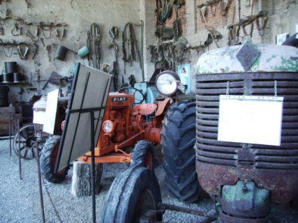 Mostra attrezzi agricoli, i trattori