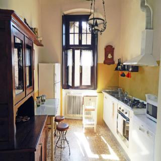 La casa nel borgo - Cucina