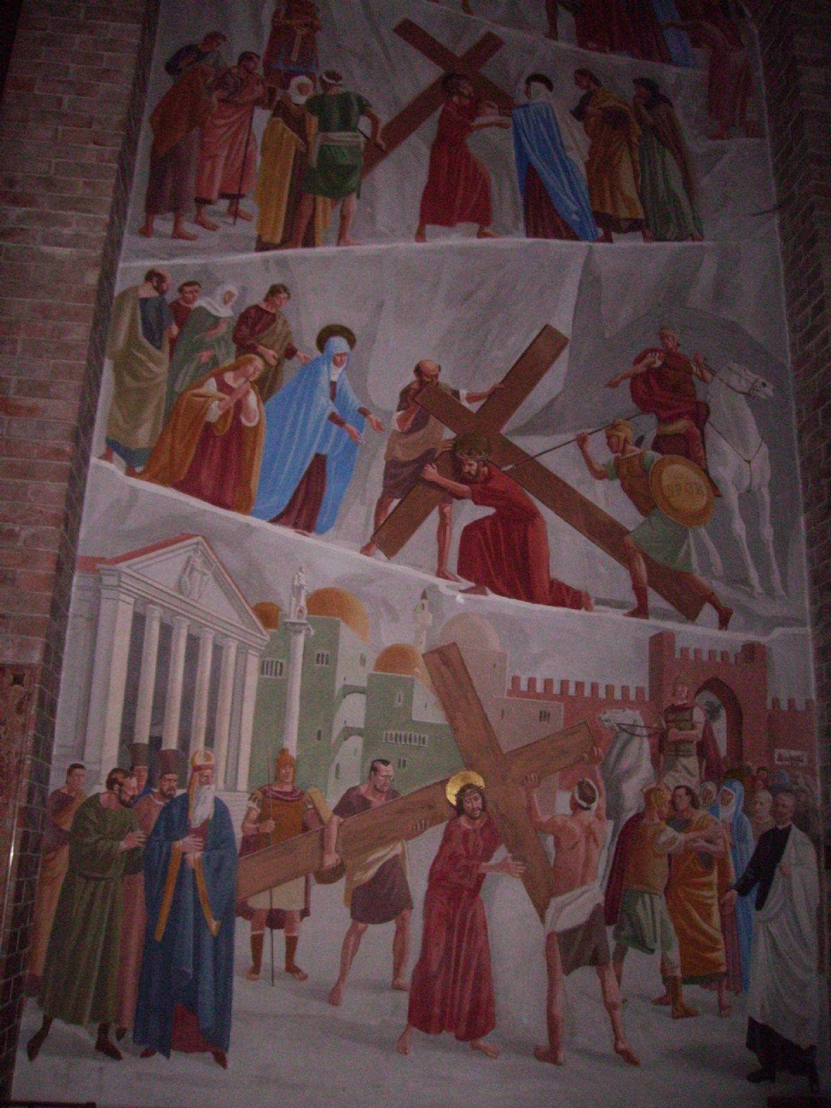 Affresco Chiesa di Podenzano