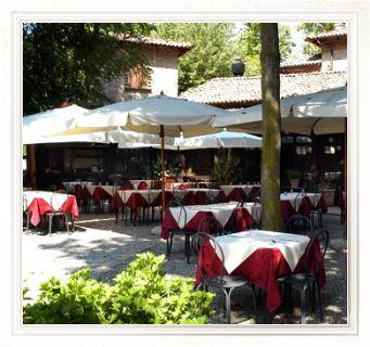 ristorante lo scudiero giardino