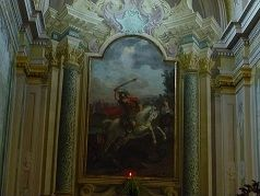 Chiesa di San Giorgio Martire - La pala d'altare