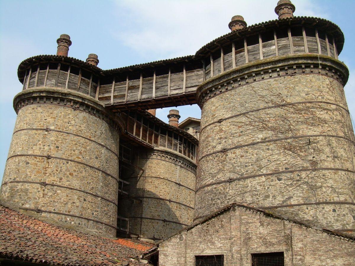 Old kilns at Ponte dell'Olio