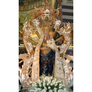 The apparition of the Blessed Virgin of the Quercia, patroness of the Nure valley