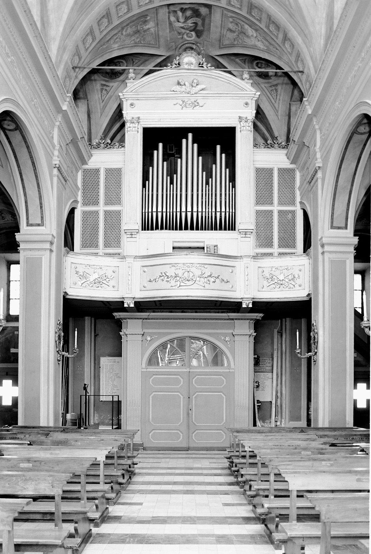 Organ of Antonio Sangalli