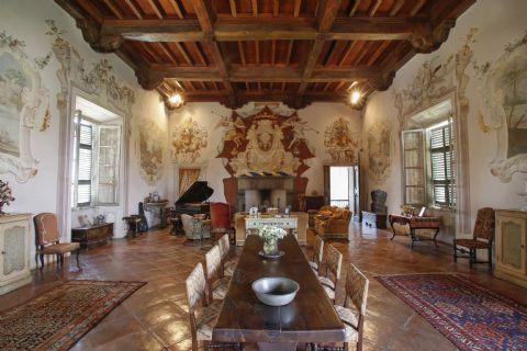 Sala del trono - Zena di Carpaneto